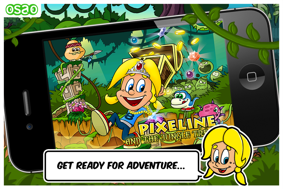 Screenshot Pixeline and the Jungle Treasure